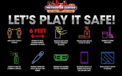 Safety Comes First at Metro Fun Center!